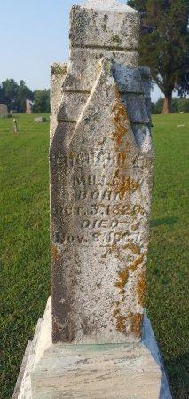 MILLER, RICHARD - Union County, Kentucky | RICHARD MILLER - Kentucky Gravestone Photos