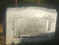 MILLER (VETERAN), JC. THEODORE - Union County, Kentucky | JC. THEODORE MILLER (VETERAN) - Kentucky Gravestone Photos