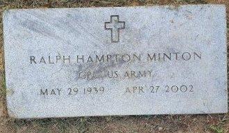 MINTON (VETERAN), RALPH HAMPTON - Union County, Kentucky | RALPH HAMPTON MINTON (VETERAN) - Kentucky Gravestone Photos
