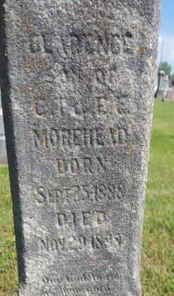 MOREHEAD, CLARENCE - Union County, Kentucky | CLARENCE MOREHEAD - Kentucky Gravestone Photos