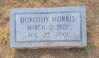 MORRIS, DOROTHY - Union County, Kentucky   DOROTHY MORRIS - Kentucky Gravestone Photos