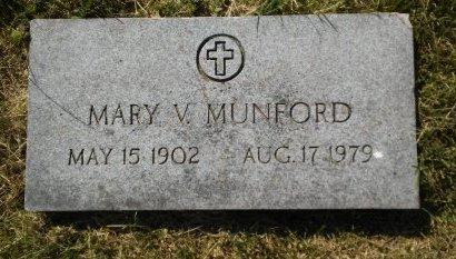 MUNFORD, MARY V. - Union County, Kentucky | MARY V. MUNFORD - Kentucky Gravestone Photos