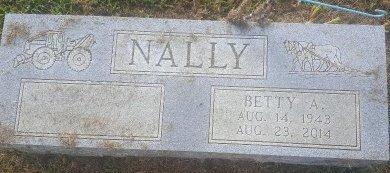 NALLY, BETTY - Union County, Kentucky | BETTY NALLY - Kentucky Gravestone Photos