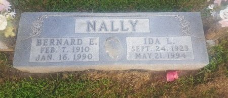 NALLY, IDA L - Union County, Kentucky | IDA L NALLY - Kentucky Gravestone Photos