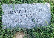 NALLY, ELIZABETH J. - Union County, Kentucky   ELIZABETH J. NALLY - Kentucky Gravestone Photos