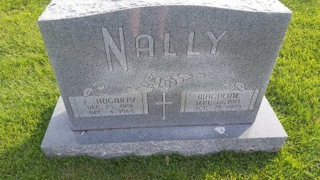 NALLY, J. HOGARTY - Union County, Kentucky | J. HOGARTY NALLY - Kentucky Gravestone Photos