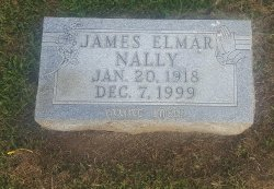NALLY, JAMES ELMAR - Union County, Kentucky | JAMES ELMAR NALLY - Kentucky Gravestone Photos
