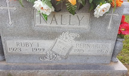 NALLY, RUBY - Union County, Kentucky | RUBY NALLY - Kentucky Gravestone Photos