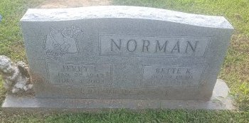 NORMAN, BETTE K - Union County, Kentucky | BETTE K NORMAN - Kentucky Gravestone Photos