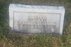OVERFIELD, BASIL - Union County, Kentucky   BASIL OVERFIELD - Kentucky Gravestone Photos