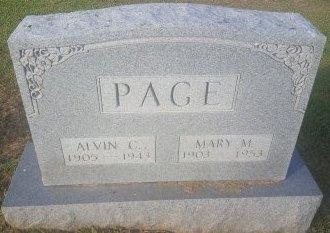 PAGE, ALVIN C - Union County, Kentucky   ALVIN C PAGE - Kentucky Gravestone Photos