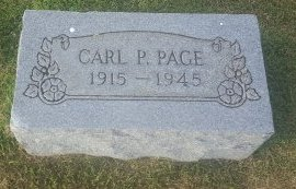 PAGE, CARL P - Union County, Kentucky | CARL P PAGE - Kentucky Gravestone Photos