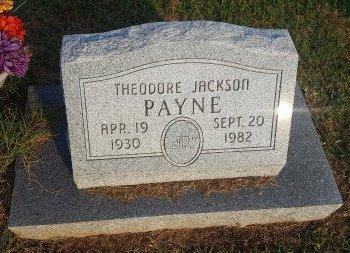 PAYNE, THEODORE JACKSON - Union County, Kentucky | THEODORE JACKSON PAYNE - Kentucky Gravestone Photos