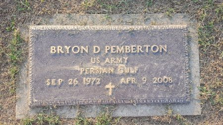 PEMBERTON (VETERAN PERSIAN GUL, BRYON D - Union County, Kentucky | BRYON D PEMBERTON (VETERAN PERSIAN GUL - Kentucky Gravestone Photos