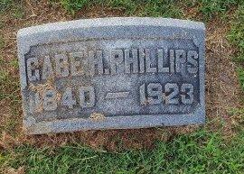 PHILLIPS, GABE H - Union County, Kentucky | GABE H PHILLIPS - Kentucky Gravestone Photos