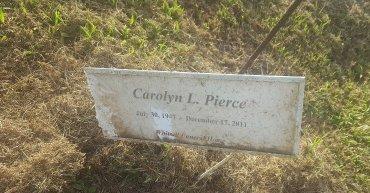 PIERCE, CAROLYN L - Union County, Kentucky | CAROLYN L PIERCE - Kentucky Gravestone Photos
