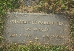 PIPER (VETERAN), CHARLES EDWARD - Union County, Kentucky | CHARLES EDWARD PIPER (VETERAN) - Kentucky Gravestone Photos