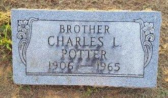 POTTER, CHARLES L - Union County, Kentucky   CHARLES L POTTER - Kentucky Gravestone Photos