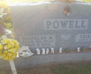 POWELL, DOUGLAS M - Union County, Kentucky | DOUGLAS M POWELL - Kentucky Gravestone Photos