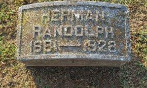 RANDOLPH, HERMAN - Union County, Kentucky   HERMAN RANDOLPH - Kentucky Gravestone Photos