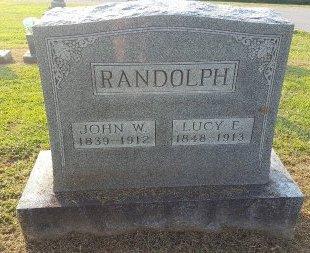RANDOLPH, JOHN W - Union County, Kentucky | JOHN W RANDOLPH - Kentucky Gravestone Photos
