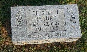 REBURN, CHESTER J - Union County, Kentucky | CHESTER J REBURN - Kentucky Gravestone Photos