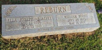 REBURN, ELLA JOSEPHINE - Union County, Kentucky | ELLA JOSEPHINE REBURN - Kentucky Gravestone Photos
