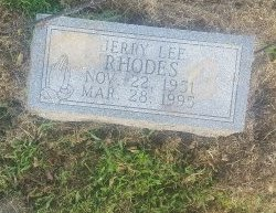 RHODES, JERRY LEE - Union County, Kentucky | JERRY LEE RHODES - Kentucky Gravestone Photos