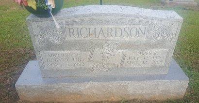RICHARDSON, JAMES R - Union County, Kentucky | JAMES R RICHARDSON - Kentucky Gravestone Photos