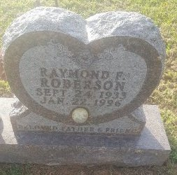 ROBERSON, RAYMOND F - Union County, Kentucky | RAYMOND F ROBERSON - Kentucky Gravestone Photos