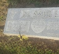 RUSSELL, SCOTTY L - Union County, Kentucky | SCOTTY L RUSSELL - Kentucky Gravestone Photos