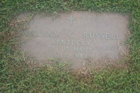 RUSSELL (VETERAN WW2), WILLIAM C - Union County, Kentucky | WILLIAM C RUSSELL (VETERAN WW2) - Kentucky Gravestone Photos