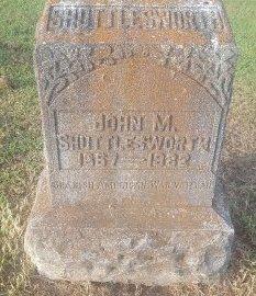 SHUTTLEWORTH, JOHN M - Union County, Kentucky | JOHN M SHUTTLEWORTH - Kentucky Gravestone Photos