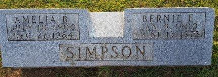 SIMPSON, AMELIA B - Union County, Kentucky   AMELIA B SIMPSON - Kentucky Gravestone Photos