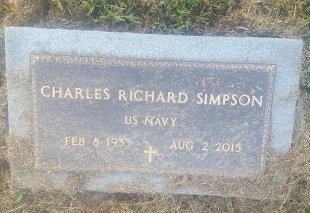 SIMPSON (VETERAN), CHARLES RICHARD - Union County, Kentucky | CHARLES RICHARD SIMPSON (VETERAN) - Kentucky Gravestone Photos