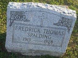 SPALDING, FREDRICK THOMAS - Union County, Kentucky | FREDRICK THOMAS SPALDING - Kentucky Gravestone Photos