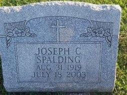 SPALDING, JOSEPH C - Union County, Kentucky | JOSEPH C SPALDING - Kentucky Gravestone Photos