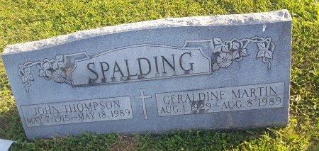 SPALDING, GERALDINE - Union County, Kentucky   GERALDINE SPALDING - Kentucky Gravestone Photos