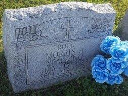 SPALDING, MORRIS A - Union County, Kentucky   MORRIS A SPALDING - Kentucky Gravestone Photos