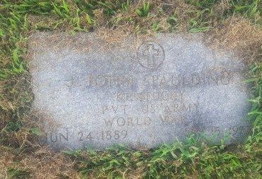 SPAULDING (VETERAN WW1), J JOHN - Union County, Kentucky   J JOHN SPAULDING (VETERAN WW1) - Kentucky Gravestone Photos
