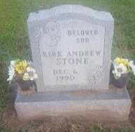 STONE, KIRK ANDREW - Union County, Kentucky | KIRK ANDREW STONE - Kentucky Gravestone Photos