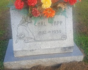TAPP, EARL - Union County, Kentucky   EARL TAPP - Kentucky Gravestone Photos