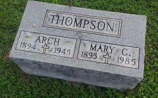 THOMPSON, ARCH - Union County, Kentucky | ARCH THOMPSON - Kentucky Gravestone Photos