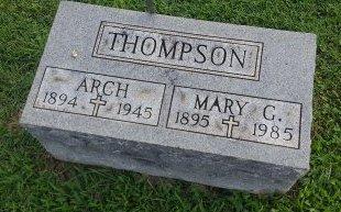 THOMPSON, MARY - Union County, Kentucky | MARY THOMPSON - Kentucky Gravestone Photos