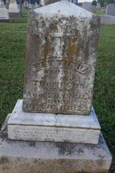 THOMPSON, BETTIE P - Union County, Kentucky | BETTIE P THOMPSON - Kentucky Gravestone Photos