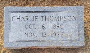 THOMPSON, CHARLIE - Union County, Kentucky | CHARLIE THOMPSON - Kentucky Gravestone Photos