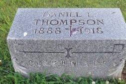 THOMPSON, DANIEL L. - Union County, Kentucky   DANIEL L. THOMPSON - Kentucky Gravestone Photos