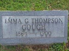 THOMPSON, EMMA G - Union County, Kentucky | EMMA G THOMPSON - Kentucky Gravestone Photos