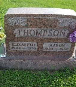 THOMPSON, ELIZABETH - Union County, Kentucky | ELIZABETH THOMPSON - Kentucky Gravestone Photos