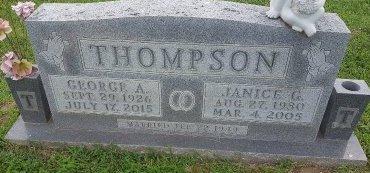 THOMPSON, JANICE - Union County, Kentucky | JANICE THOMPSON - Kentucky Gravestone Photos